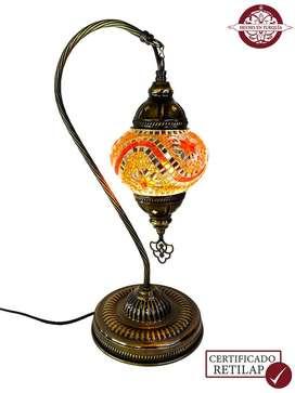 Lámpara turca de mesa en ganso #2