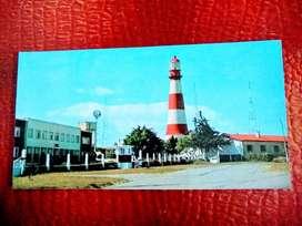 Postales 3  Mar Del Plata, 1Faro, 1playa, 1 costanera 1977