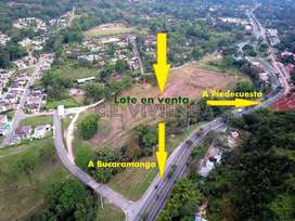 Lote Venta en Terrazas de Mensulí – Piedecuesta – Santander. Cód: 8150SB91