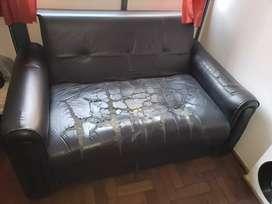 Sillon cama 2 cuerpos usado