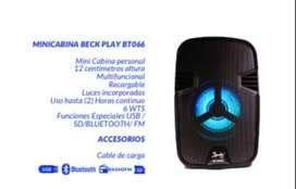 MINICABINA BECK PLAY BT066