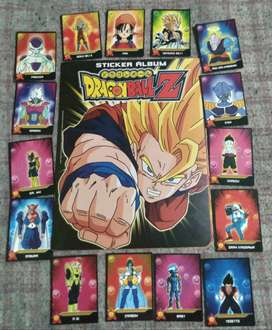 Álbum de figuritas Dragon Ball Z 2007