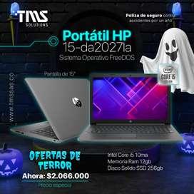 OFERTA PORTÁTIL HP 15-da2027la