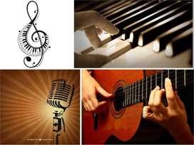 Cursos Guitarra, Canto y Piano a Domicilio