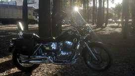 Vendo o permuto moto mondial hd 254
