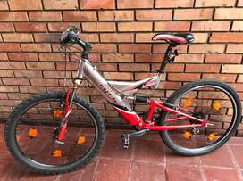 Bicicleta Trek ,Aluminio ,USA