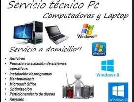 formateo y mantenimiento de computadores SIN SALIR DE CASA