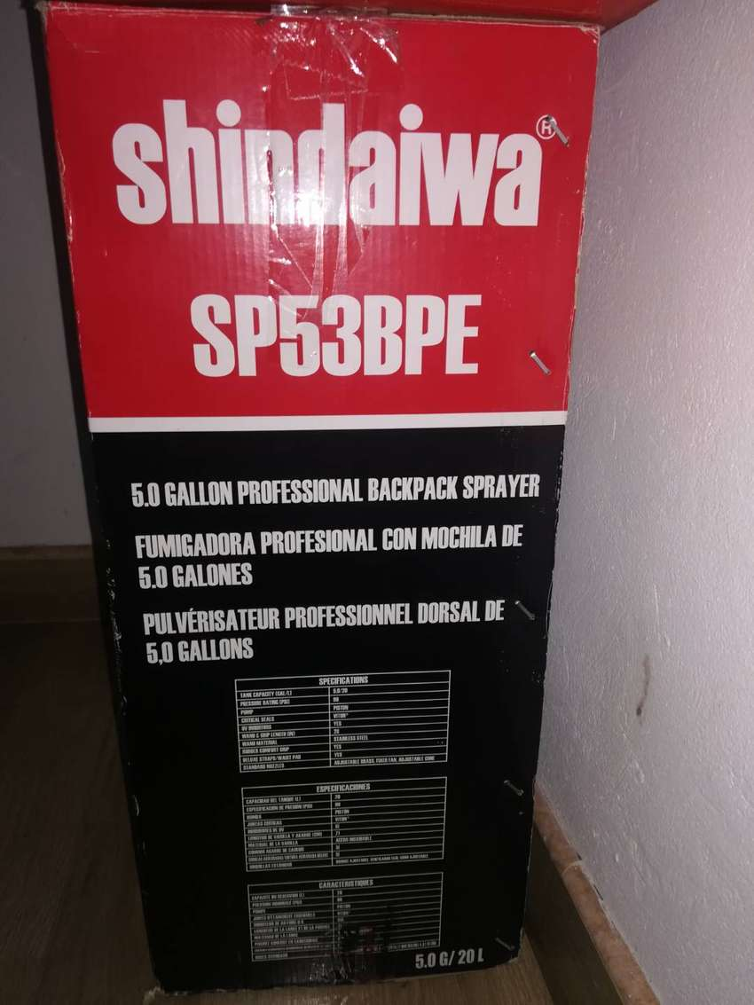 Fumigadora profesional shindaiwa 0
