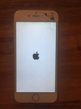 IPHONE 6 USADO pantalla quebrada, funciona mal