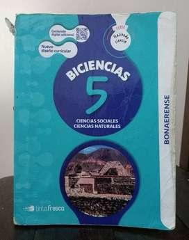 *Biciencias 5 Ciencias Sociales - Ciencias Naturales* Bonaerense - Editorial Tinta Fresca