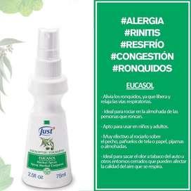 Spray de eucalipto
