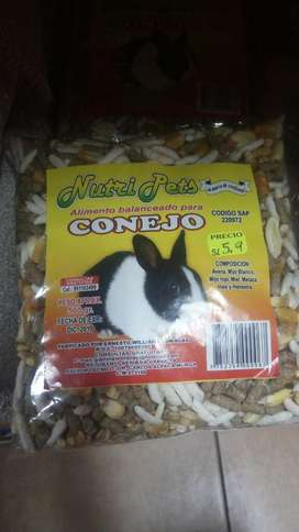 Alimento Balanceado para Conejos