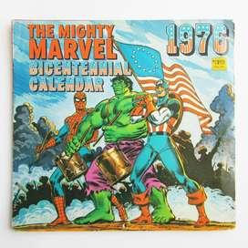 Calendario Marvel 1976! - Para Coleccionistas