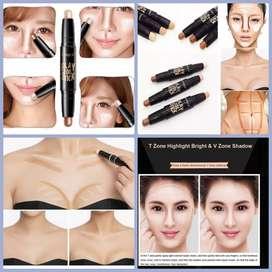 Corrector Doble Maquillaje Larga Duración