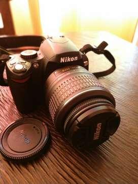 Se Vende Camara Reflex Nikon D60