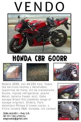 Vendo / Permuto Honda CBR 600rr 2008