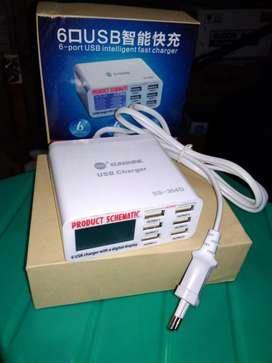 Lector de Voltaje 6 USB