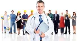 Solicito Médico Ocupacional.