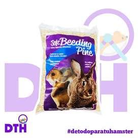 sustrato de pino x 1kg para hamsters conejos jerbos y erizos