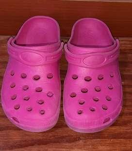 Crocs rosadas T38