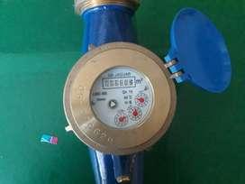 Contador Medidor para Agua fria de 2 npt con acoples