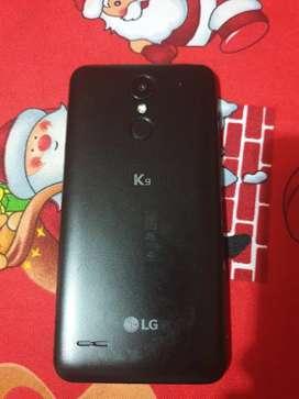 LG K9 10/10 con caja y accesorio 100$ negociable