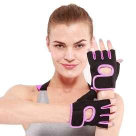 Guantes Gym, Bicicleta, Ejercicio, Neopreno, Antideslizante,Para Mujer