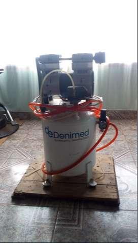 Compresor Odontologico Denimed nuevo.