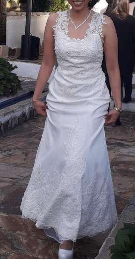 Vestido de novia convertible