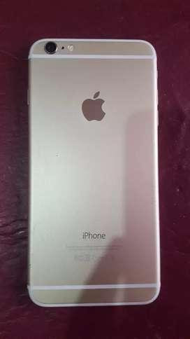 iphone 6 plus de 64 GB rosa gold precio a charlar