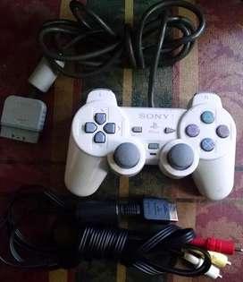 Control PsOne y Cable AV