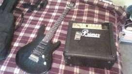 guitarra freedom y amplificador primer vendo por necesidad