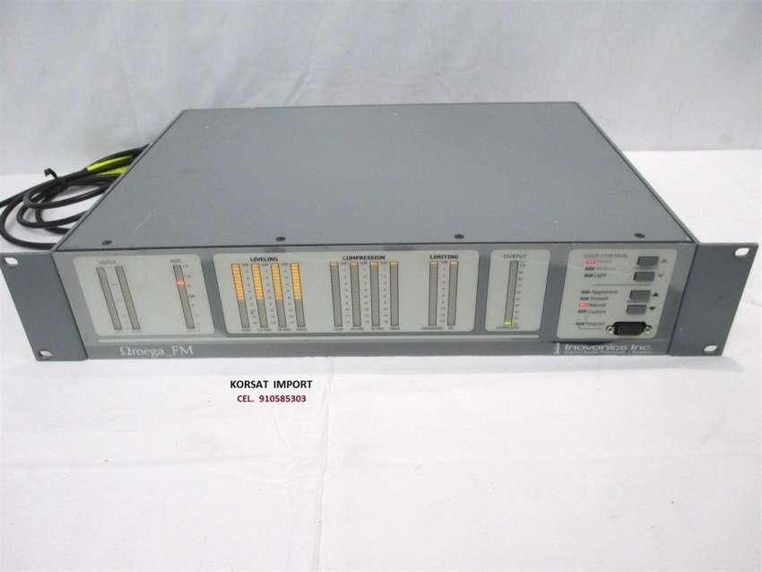 FM Procesador Audio  Stereo digital, Inovonics Omega FM 0