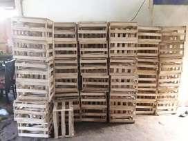 Venta de jabas de madera
