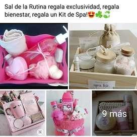 Kit de Spa, Cojines y cuadros en Ecocuero