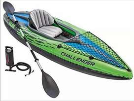 Kayak pesca paseo inflable resistente