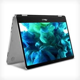 """ASUS VivoBook Flip 14 portátil delgado y ligero 2 en 1, pantalla táctil FHD de 14"""", procesador Intel Pentium Silver N503"""