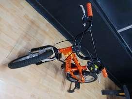 Bicicleta naranja gw