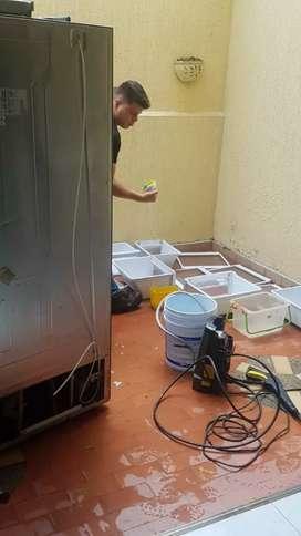 Servicio inmediato de mantenimientos instalaciones y reparaciones le lavadoras y neveras