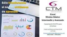 Cursos de Excel Nivel Básico Medio  y Avanzado