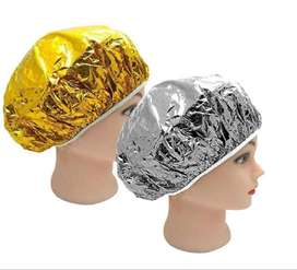 Gorro Metalizado - Gorro De Aluminio X 2