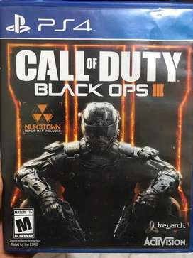 Call of duy black ops 3 de segunda Ps4