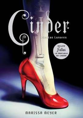 Cinder - Crónicas Lunares - Marissa Meyer - Libro nuevo y original