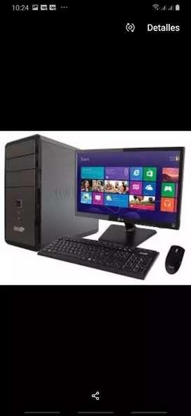 Vendo computador de escritorio Semi Nuevo