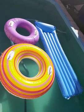 Combo inflables pileta