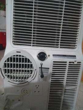 Vendo aire portátil 12000 btu 110 voltios