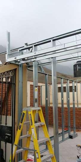DRYWALL - ENCHAPADO - CONSTRUCCIÓN - REMODELACIONES - CIELO RAZO - VIDRIERIA - CARPINTERIA - REDES DE AGUA Y DESAGÜE -