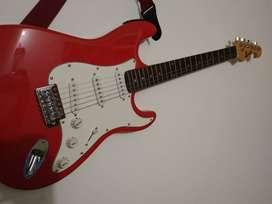 Guitarra electrica Roja McArt