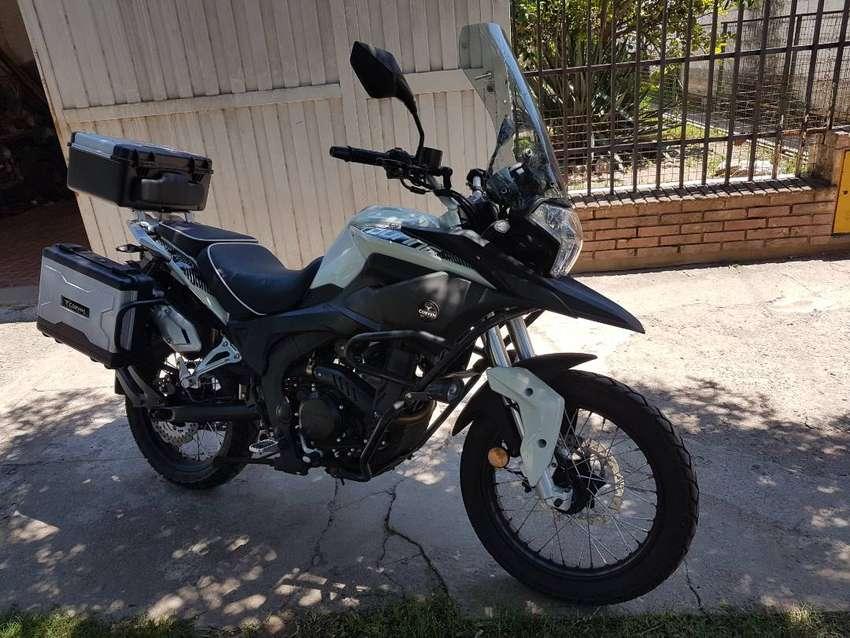 corven triax 250 touring 0