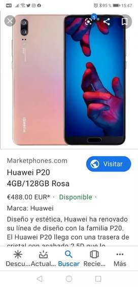 Vendo p20 Normal 128Gb